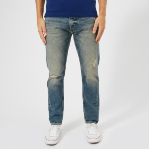 Tommy Jeans Men's Modern Tapered Jeans - Davie Dirt Blue Rigid