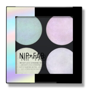 NIP + FAB Make Up Highlighter Quad – Weightless Strobing 12 g