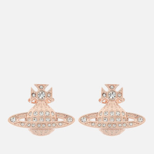 Vivienne Westwood Women's Mini Bas Relief Earrings - Pink Gold