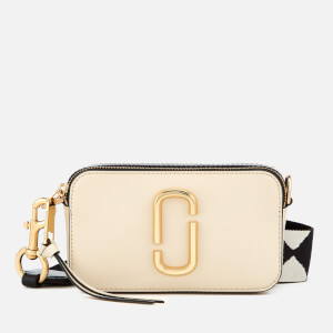 Marc Jacobs Women's Snapshot Small Camera Bag - Cloud White/Multi