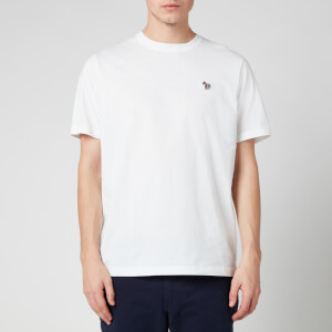 PS Paul Smith Men's Zebra Logo Regular Fit T-Shirt - White