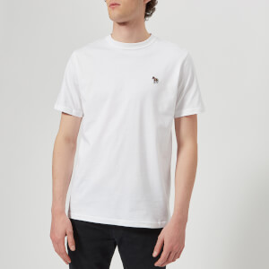 PS Paul Smith Men's Short Sleeve Zebra T-Shirt - White