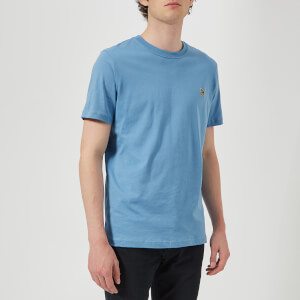 PS by Paul Smith Men's Regular Fit Zebra T-Shirt - Turquoise