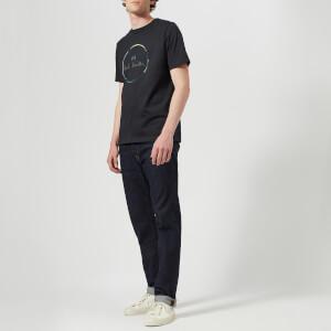 PS Paul Smith Men's Short Sleeve Regular Fit Circle T-Shirt - Dark Navy: Image 3