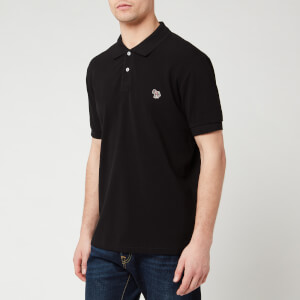 PS Paul Smith Men's Zebra Polo Shirt - Black
