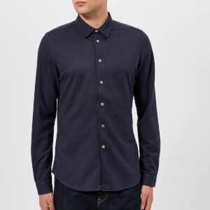 PS Paul Smith Men's Slim Fit Pique Shirt - Inky