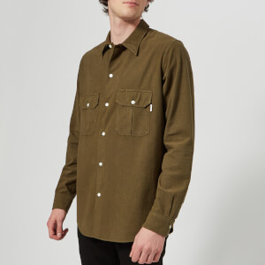 PS by Paul Smith Men's Casual Fit Long Sleeve Shirt - Green