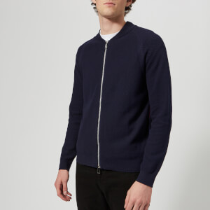 PS Paul Smith Men's Zipped Cardigan - Inky