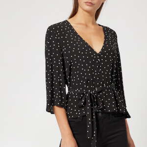Gestuz Women's Harper Blouse - Black Dot