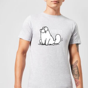 Simon's Cat Purrfect Men's T-Shirt - Grey