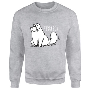 Simon's Cat Purrfect Sweatshirt - Grey