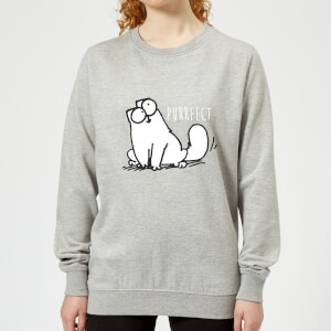 Sweat Femme Purrfect Simon's Cat - Gris