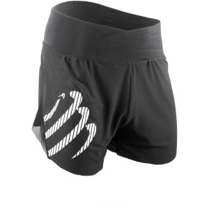 Compressport Racing Over Shorts - Black