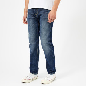 Edwin Men's ED-80 Slim Tapered Rainbow Selvage Denim Jeans - Hikaru Wash
