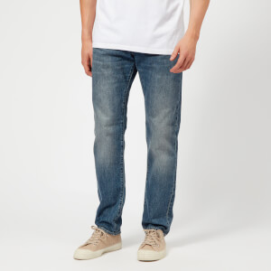 Edwin Men's ED-55 Regular Tapered Jeans - Sandpiper Clean Wash