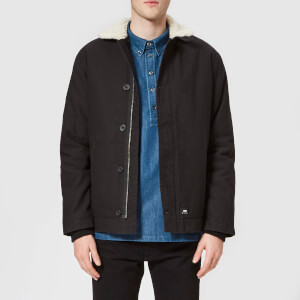 Edwin Men's Deck Jacket - Black