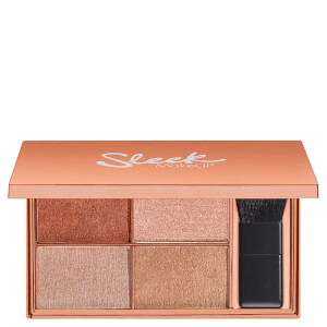 Палетка хайлайтеров Sleek MakeUP Highlighting Palette - Copperplate 9 г