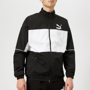 Puma Men's Retro Woven Track Jacket - Puma Black
