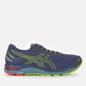 Asics Running Men's Gel-Cumulus 20 G-TX Trainers - Peacoat/Neon Lime