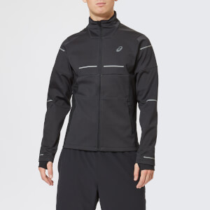 Asics Men's Lite-Show Winter Jacket - Performance Black