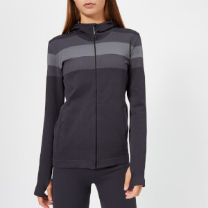 Asics Women's Seamless Full Zip Hoody - Performance Black Heather