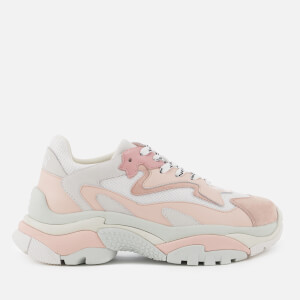 Ash Women's Addict Chunky Runner Style Trainers - White/Blush