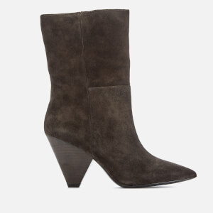 Ash Women's Doll Suede Heeled Boots - Africa