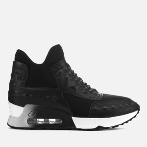 Ash Women's Laser Studs Trainers - Black