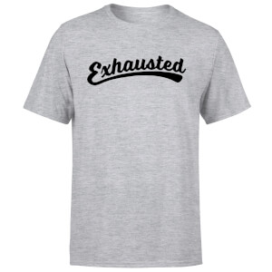 Exhausted Men's T-Shirt - Grey