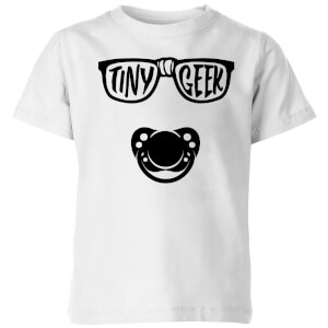 My Little Rascal Tiny Geek Kids' T-Shirt - White
