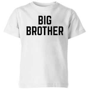 My Little Rascal Big Brother Kids' T-Shirt - White