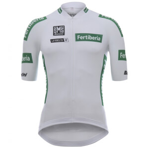 Santini La Vuelta 2018 Combined Jersey - White