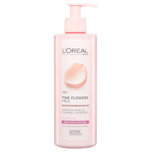 L'Oreal Paris Fine Flowers Cleansing Milk 400ml