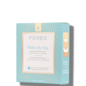 FOREO Make My Day UFO/UFO Mini Anti-Pollution and so Hydrating Face Mask (7 Pack)