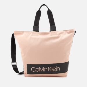 Calvin Klein Women's Block Out Shopper Bag - Nude