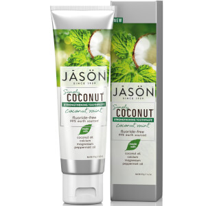 JASON Strengthening Coconut Mint Toothpaste 119g