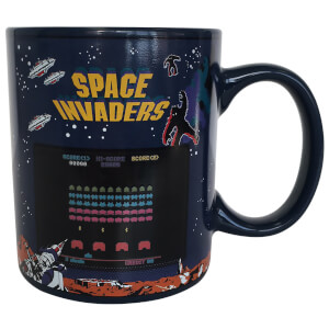 Space Invaders Heat Change Mug