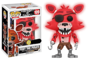 Five Nights at Freddy's GITD Foxy EXC Pop! Vinyl Figure