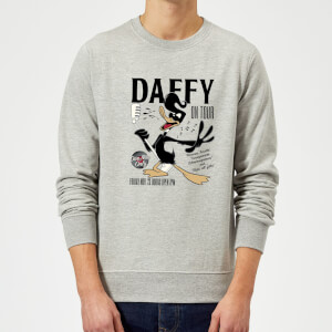 Looney Tunes Daffy Concert Sweatshirt - Grey