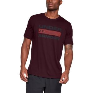 Under Armour Team Issue Wordmark T-Shirt - Maroon