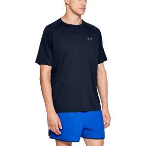 Under Armour Men's Tech 2.0 Shorts Sleeve T-Shirt - Academy Blue