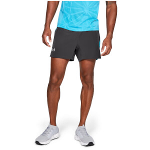Under Armour Speedpocket Swyft 5 Inch Running Shorts - Grey/Blue