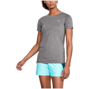 Under Armour Women's HeatGear T-Shirt - Charcoal
