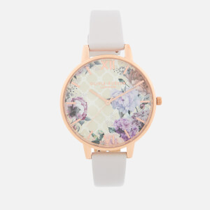 Olivia Burton Women's Glasshouse Watch - Blush/Rose Gold