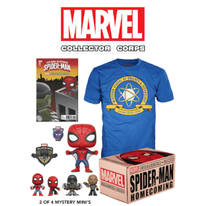 Marvel Collector's Corps Box - Spider-Man Homecoming