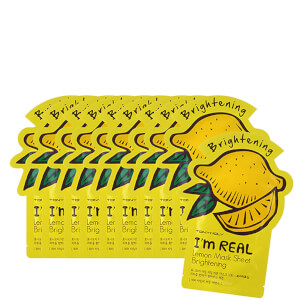 TONYMOLY I'm Real Sheet Mask Set of 10 - Lemon