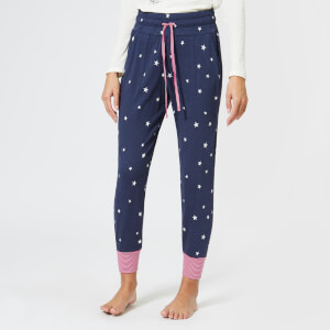Joules Women's Joycelin Jersey PJ Bottoms - French Navy Star
