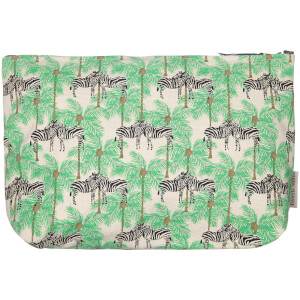 Fenella Smith Zebra Make-Up Bag - Large