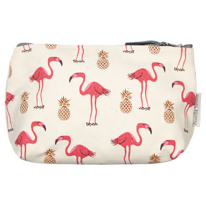 Fenella Smith Flamingo and Pineapple Make-Up Bag - Small