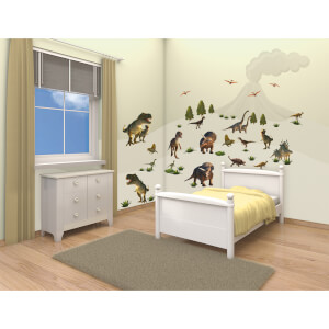 Walltastic Dinosaur Land Room Decor Kit